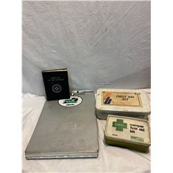 Lot of First Aid items