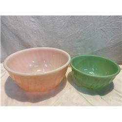 Fire King vintage bowls