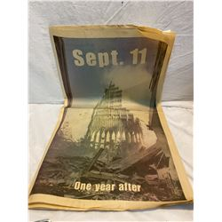 Sept 11 One year later paper