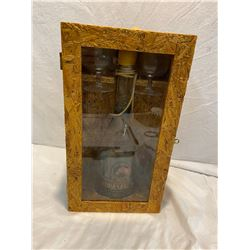 Bottles and boxes collectible empty