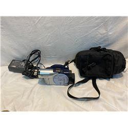 Hitachi video camera and DVD-R