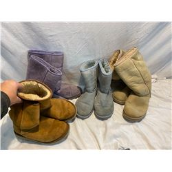 4 pair size 6 UGG boots