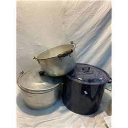 Canner and two pots