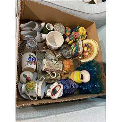 box collectible glassware