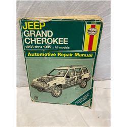 Jeep Cherokee 93-95 Manual