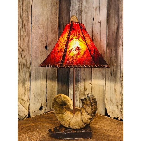 Sheep Horn Lamp