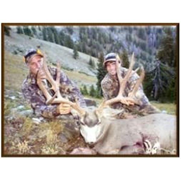 Wyoming Commissioner's License for Deer, Elk or Pronghorn.