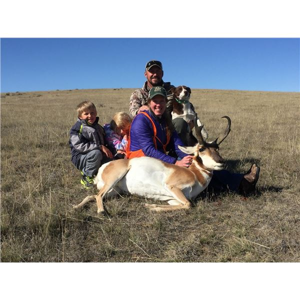 Private Land Youth Antelope Hunt