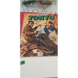 LONE RANGER'S COMPANION TONTO #8 1952