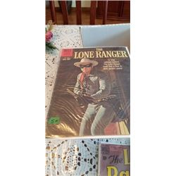 THE LONE RANGER #135 1960 10 CENT DELL COMIC