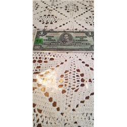 1937 $1.00 NOTE CRISP SQUARE CORNERS CO/TO  K/N9502642