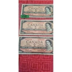 3 1954 BEATTIE/ RASMINSKY  $2.00 NOTES