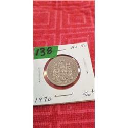 1970 50 CENT PIECE
