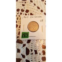 1923 5 cent