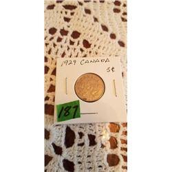 1929 5 cent