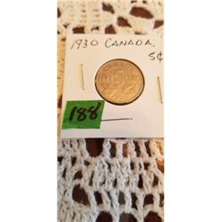 1930 5 cent