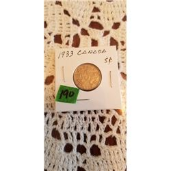 1933 5 cent