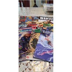 10 VARIOUS COMICS
