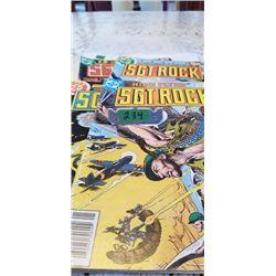 4 SGT. ROCK DC COMICS