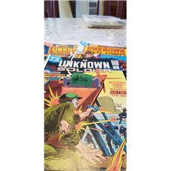 3 UNKNOWN SOLDIER DC COMICS