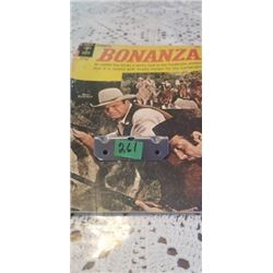 BONANZA GOLD KEY COMIC