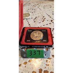 1873-1973 RCMP SILVER DOLLAR .500 SILVER