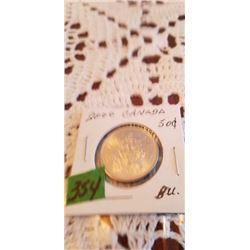 2000  50 CENT  BRILLANT UNC.