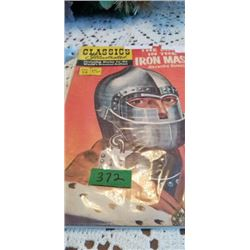 CLASSICS ILLUSTRATED   THE MAN IN THE IRON MASK