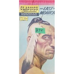 CLASSICS ILLUSTRATED   LAST OF THE MOHICANS