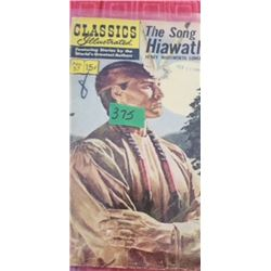 CLASSICS ILLUSTRATED   THE SONG OF HIAWATHA
