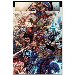 "Marvel Comics ""Avengers: The Initiative #19"" Numbered Limited Edition Giclee on"