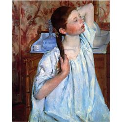 Mary Cassatt - Girl Arranging Her Hair 1886