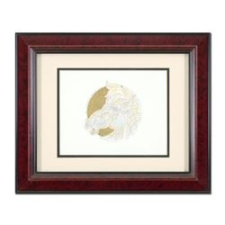 "Guillaume Azoulay, ""Remarque for Dragon Dore"" Framed Hand Colored Original Pen a"