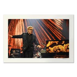 "Rob Shanahan, ""Elton John"" Hand Signed Limited Edition Giclee with Certificate o"