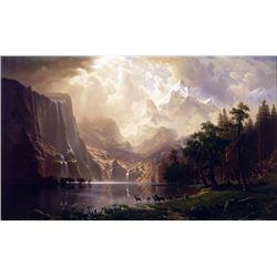 Bierstadt - Among the Sierra Nevada