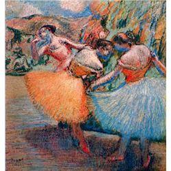 Edgar Degas - Three Dancers #1