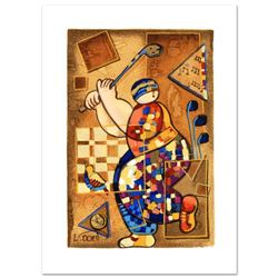 """Dorit Levi, """"Strike a Note"""" Limited Edition Serigraph, Numbered and Hand Signed"""