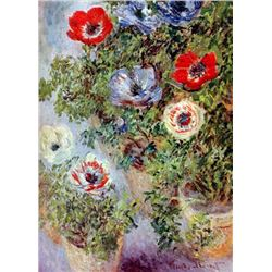 Claude Monet - Still Life with Anemones