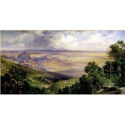 Thomas Moran - Valley of Cuernavaca