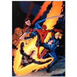 "Marvel Comics ""The Amazing Spider-Man #590"" Numbered Limited Edition Giclee on C"