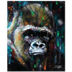 """Albert"" Limited Edition Giclee on Canvas by Stephen Fishwick, Numbered and Sign"