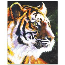 """""""Patience"""" Limited Edition Giclee on Canvas by Stephen Fishwick, Numbered and Si"""