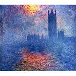 Claude Monet - The Parlaiment in London