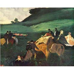 Edgar Degas - Riders In The  Landscape