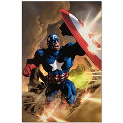 "Marvel Comics ""Secret Avenger #12"" Numbered Limited Edition Giclee on Canvas by"