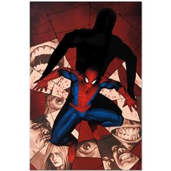 "Marvel Comics ""Fear Itself: Spider-Man #1"" Numbered Limited Edition Giclee on Ca"