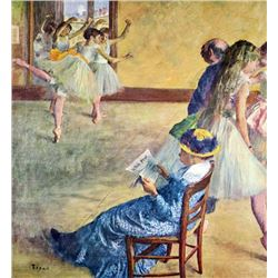 Edgar Degas - During The Dance Lessons  Madame Cardinal