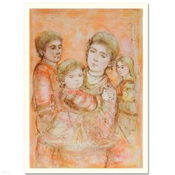 """Portrait of a Family"" Limited Edition Lithograph by Edna Hibel (1917-2014), Num"