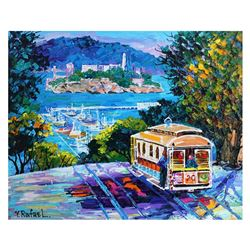 "Yana Rafael, ""City by the Bay"" Hand Signed Original Painting on Canvas with COA."