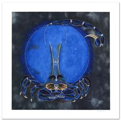 "Lu Hong, ""Scorpio"" Limited Edition Giclee, Numbered and Hand Signed with COA."